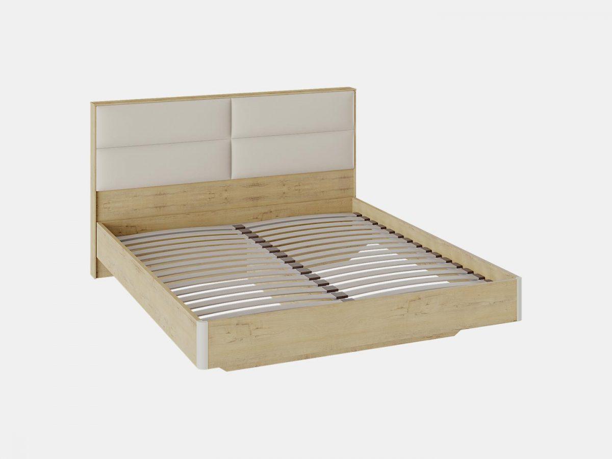 Кровать «Николь» с мягким изголовьем