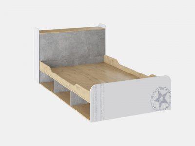 Кровать для подростка «Мегаполис» 2000х1200
