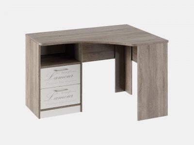 Стол угловой с ящиками «Брауни»