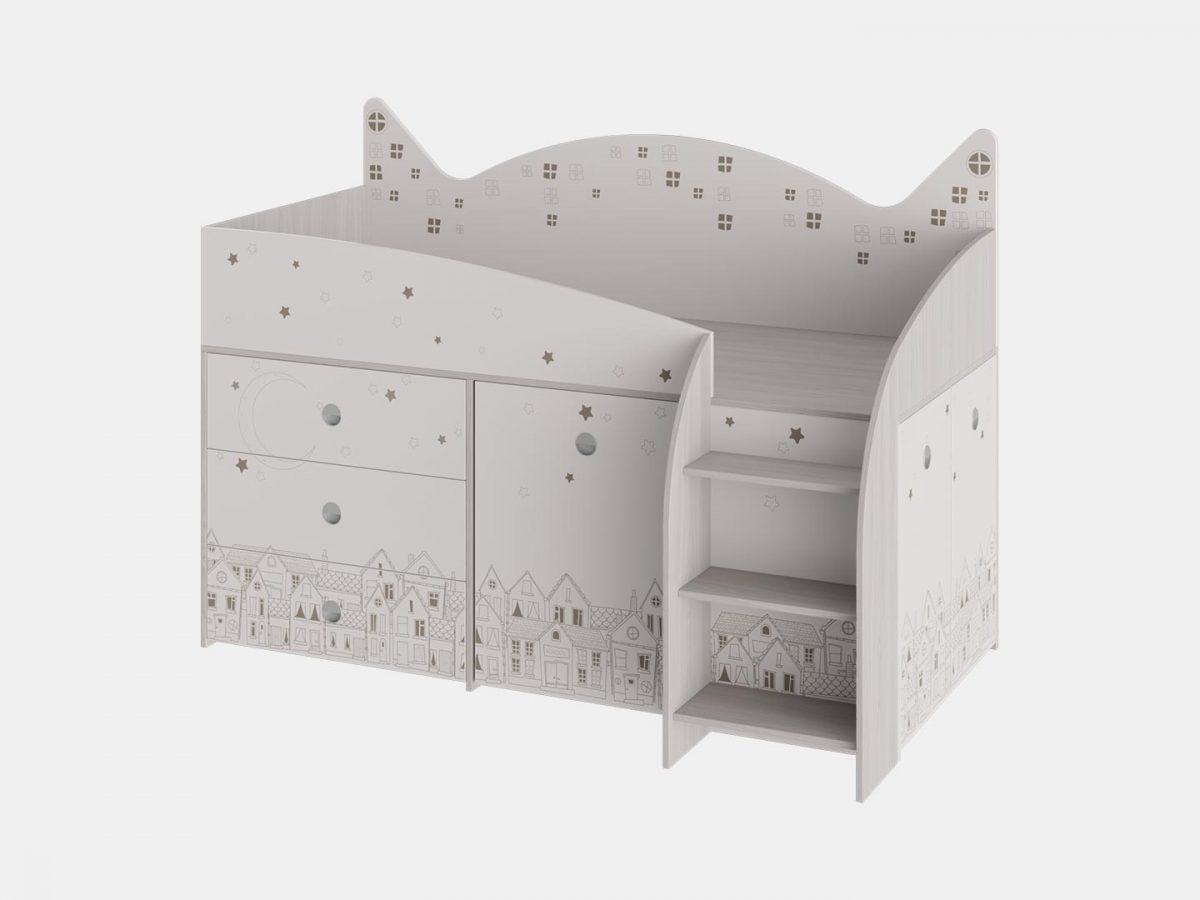 Кровать комбинированная «Каспер»