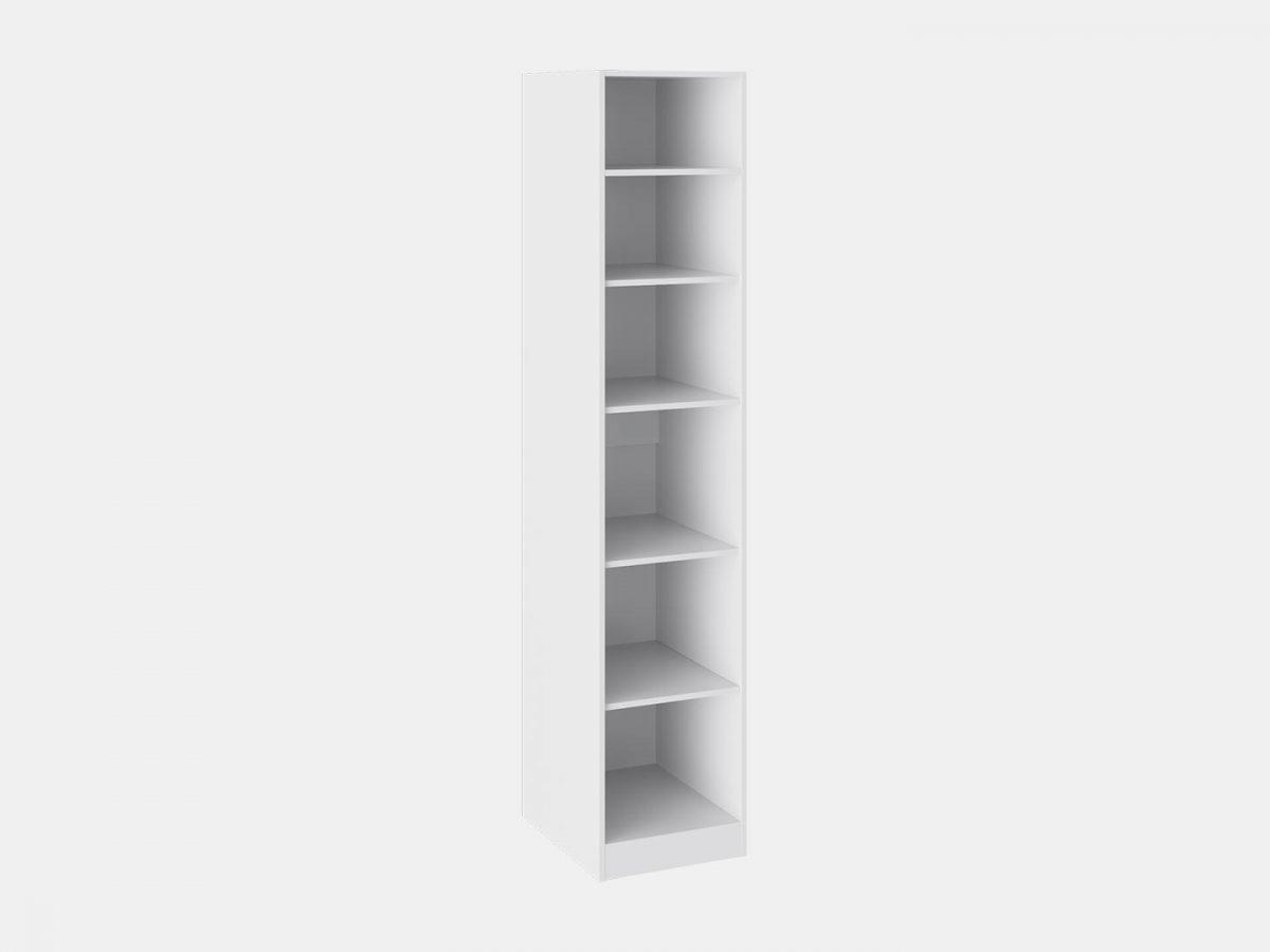 Шкаф для белья «Наоми» (Белый глянец)