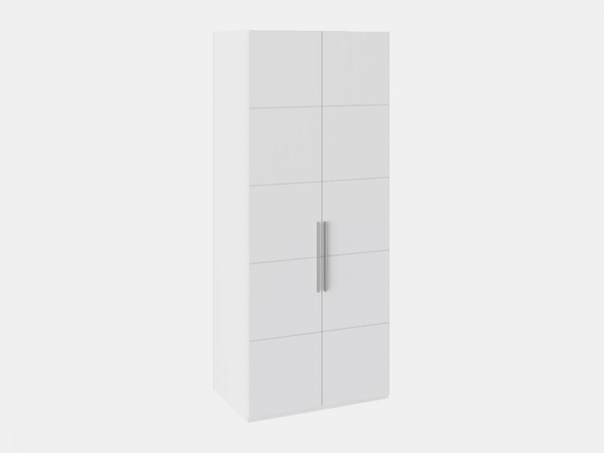 Шкаф с 2-мя дверями «Наоми» (Белый глянец)