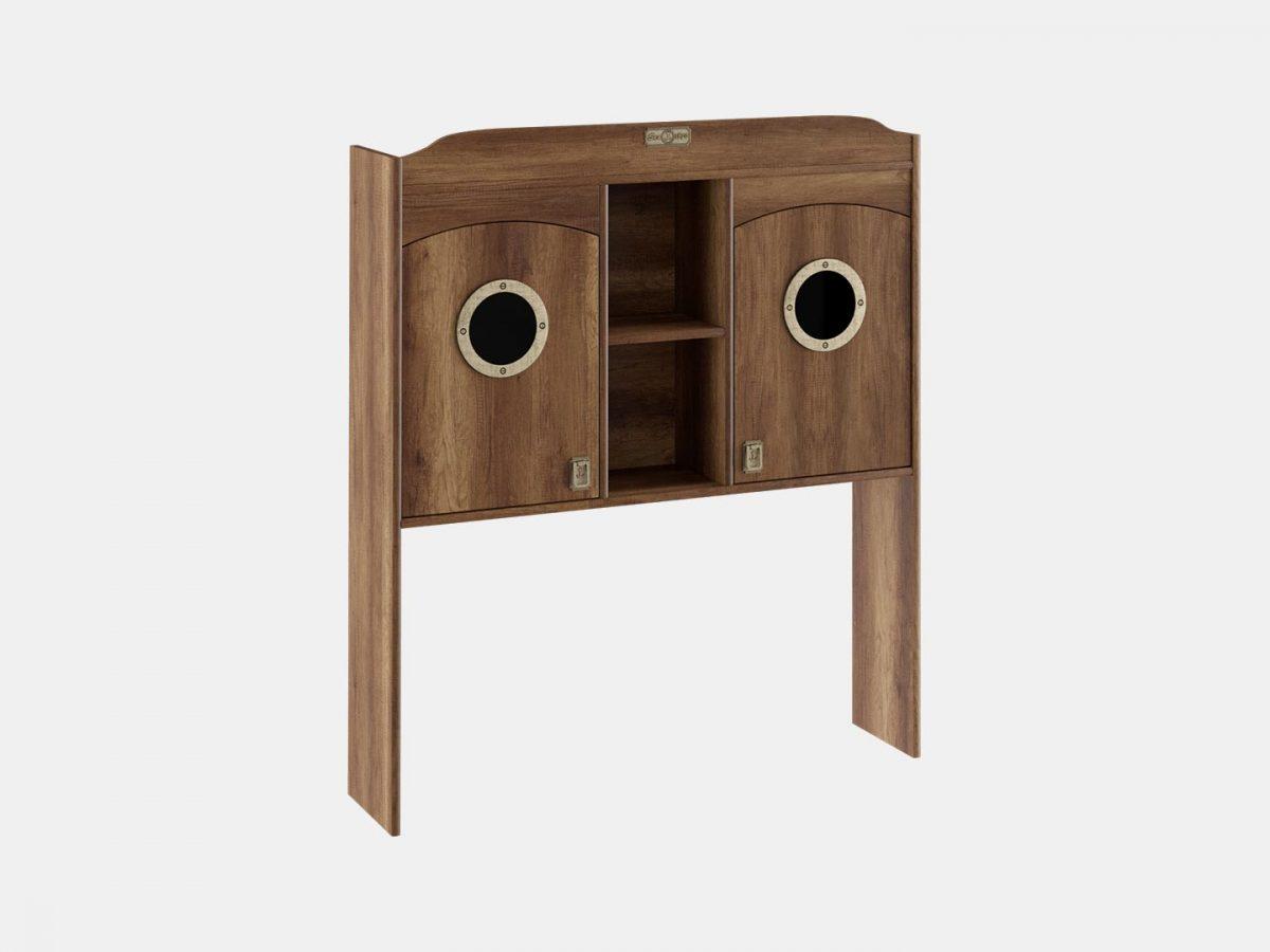 Шкаф настольный с иллюминатором «Навигатор»