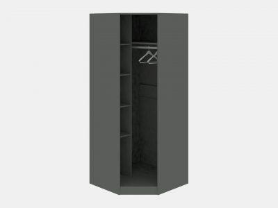 Шкаф угловой «Наоми» (Фон серый, Джут)